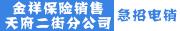金祥保险销售有限公司天府二街分公司招聘信息