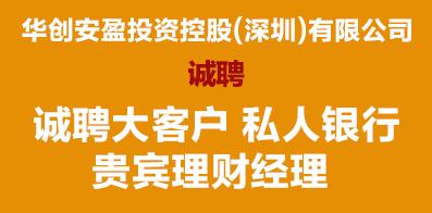 华创安盈投资控股(深圳)有限公司