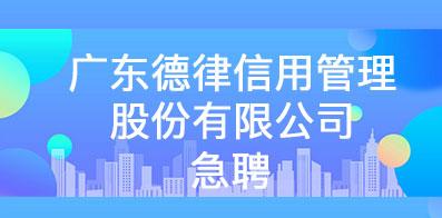 广东德律信用管理股份有限公司