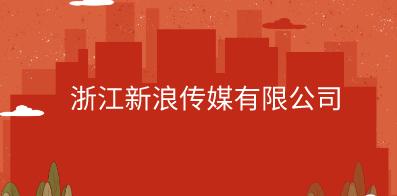 浙江新浪传媒有限公司